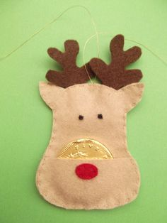 Handmade Christmas Tree Decorations | eBay - fab!! And ridiculously low price - reindeers, penguins and robins - http://www.ebay.co.uk/itm/110985290408?var=STRK%3AMESELX%3AIT&_trksid=p3984.m1555.l2649