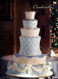 love the diamond pattern layer! for the princess in all of us for a wedding