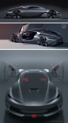 Daily Sketch: Audi Avus MKII by Liviu Tudoran gallery: http://buff.ly/1BdQmjn Liviu's work: https://www.behance.net/liviutudoran