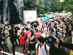 Our Protest March has been started!!! #23AugProtests #SEALDs