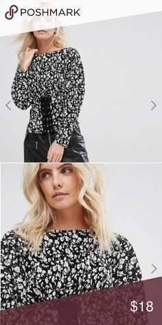 66c49095ba5 Shop Women s ASOS Petite Black White size Tops at a discounted price at  Poshmark. Description