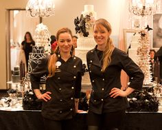 Cake Opera Co. at The Wedding Show - bridal show booth idea