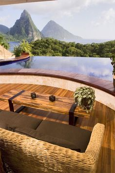 Jade Mountain, St. Lucia: Best Caribbean View From A Hotel Room