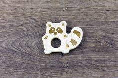 This beautiful, durable and organic wooden baby teether is handmade by K.WUD. Our teethers are made using hard maple which is naturally resistant to bacteria and it is non-splintering wood, so it's...