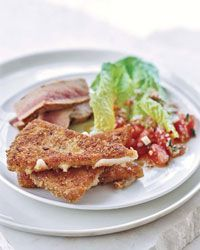 Grilled Tuna with Fried Manchego - Fried Foods on Food & Wine