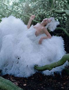 "Kate Moss in ""Waltz dancing"" by Tim Walker for Love #8, fall 2012"