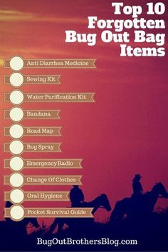 When most people put there bug out bags together they get the basics. They pack rope, knives,a tent, some matches and maybe a gun. But most people forget the little things that could end being the difference…