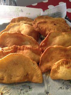 Panzerotti homemade fatto dalla suocera rigorosamente fritti ... ;-) mamma che buoni!!