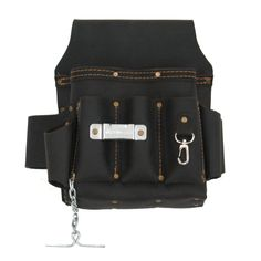 Style n Craft 70603 - 10 Pkt Electrician's Tool Pouch -Heavy,Oiled Grain Leather #StylenCraft #ElectriciansToolPouch