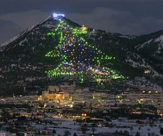 The biggest Christmas tree in the world  http://www.aluxurytravelblog.com/2012/12/07/the-biggest-christmas-tree-in-the-world/