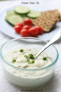 French Onion Dip- THM S