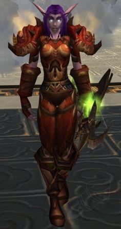 Gronnstalker armor set. My favorite hunter transmog