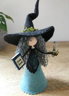 Fall Halloween, Halloween Crafts, Halloween Ideas, Michaels Craft, Pinecone Ornaments, Gift For Music Lover, Tiny Dolls, Kitchen Witch, Flower Fairies