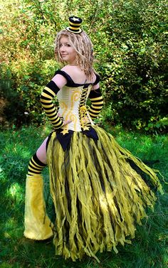 *Mustardseed* the bumble bee. we could swap some black for orange or just win over the local sports fans