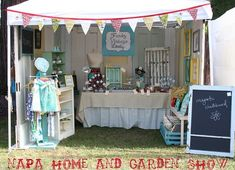 Craft Booth Display Ideas | cute booth display repinned from craft fair booth displays by art by ...