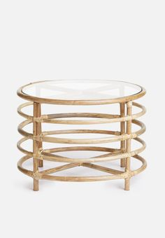 Glass Top Side Table, Home And Living, Living Room, Bamboo Table, Beautiful Homes, Flooring, Side Tables, Furniture, Coffee