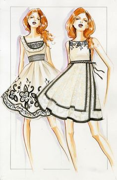 Fashion Illustration — psichore:    Paul Keng