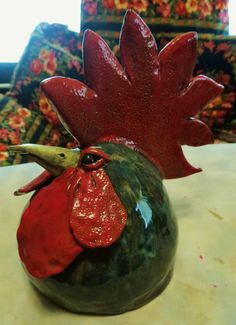 Clay Birds, Ceramic Birds, Ceramic Animals, Ceramic Art, Summer Art Projects, Clay Projects, Projects To Try, Ceramic Chicken, Wheel Thrown Pottery