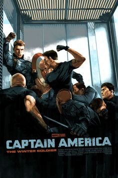 Captain America The Winter Soldier Marvel Studio Mondo Print Art Marc Aspinall Poster Marvel, Marvel Movie Posters, Poster S, Marvel Movies, Comic Movies, Print Poster, Art Print, Marvel Captain America, Chris Evans Captain America