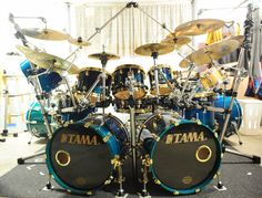 monster drum sets | mikedolbear.com discussion forum - Before The Monster Drum Sets