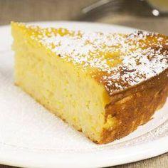 Met citroen en amandel. Lekker fris dessert of eet als gebak.