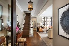 AudreyChi: Gorgeous foyer at home in Lakeview, Chicago, IL.