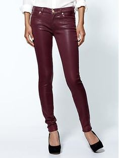 7 For All Mankind The Skinny Jeans | Piperlime -- Kill 2 Trends with one pant