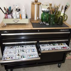 Every artist needs a tool chest! Live Water Studios @ Etsy and Fine Art America