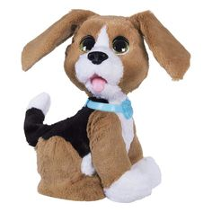 A Cuddly Puppy Pal Kids can play with a cuddly pup that gives love back with the FurReal Friends Chatty Charlie, the Barkin' Beagle. Gaspard, Real Dog, Real Mermaids, Dog Barking, Cuddling, Best Dogs, Emoji, Furla, Puppies