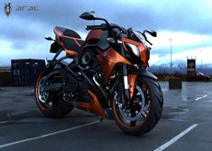 La motocicleta ARAC ZXX, diseñada por Marko Petrovic, es diferente a cualquier otra moto de carretera.