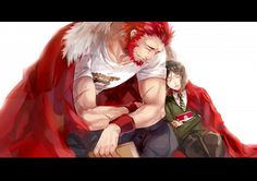 Fate/Zero. I liked watching these two and how their relationship developed! They were a good team!