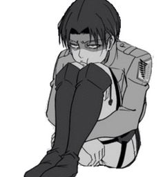 Levi Rivaille. Please, sir, cheer up! I love your smile much more.