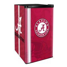Use this Exclusive coupon code: PINFIVE to receive an additional 5% off the Alabama Crimson Tide Classic Counter Refrigerator at SportsFansPlus.com