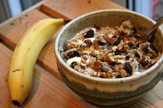 Vegan Chocolate Chip Cookie Dough Overnight Oats | Eat Dance Live