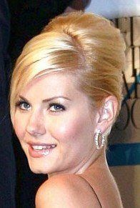 Elisha Cuthbert Classic French Twist Updo Hairstyle