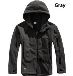 Winter Military Tactical Outdoors Softshell Fleece Jacket