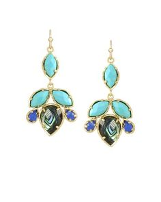 Vani Chandelier Earrings in Fiji - #KendraScott @Kendra Scott  #OmniBartonCreek #Bellas