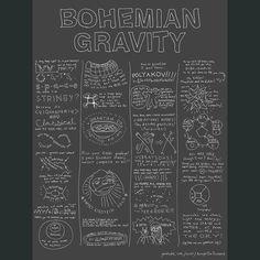 Bohemian Gravity Poster