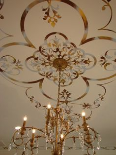 stenciled ceiling - Google Search