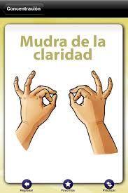 Mudras en español. Descubre cualquier mudra, cómo hacerlo y su significado. Yoga, relajación. Meditación.