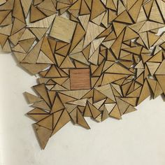 #triangles are my aesthetic #lasercut #wood by kisarichi