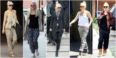 Gwen stefani szerokie spodnie