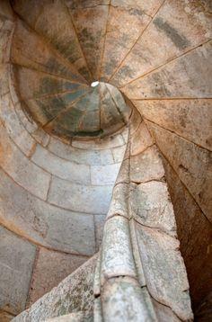 Steep stairs in Sant Ferran Castle, Figueres, Catalonia, Spain by Sebastian Kruk on 500px