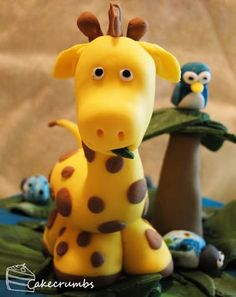 How to Make Fondant Boy | The main request was for a giraffe, which was great because I'd wanted ...