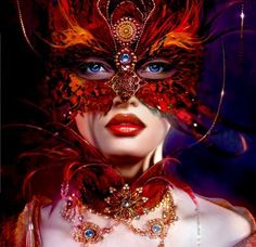 Venice Carnival Original Girl Face Mask Masquerade Blue Eyed Wallpapers Resolution : Filesize : MB, Added on January Tagged : venice carnival Venetian Masquerade, Venetian Masks, Masquerade Party, Masquerade Masks, Fantasy Hd, Fantasy Women, Fantasy Girl, Costume Venitien, Red Mask