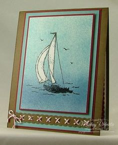 Blog Post Date:  Jul 1, 2011.  Sail Away stamp set.