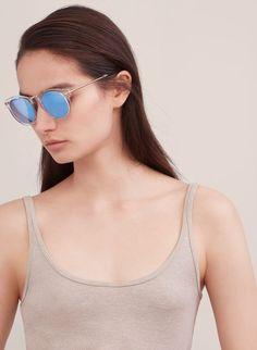 GRACE | Aritzia Mirrored Sunglasses, Sunglasses Women, Eyewear, Stylish, Fashion, Glasses, Moda, La Mode, General Eyewear