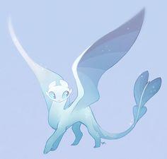"rollingrabbit: ""I like the sparkledragon. Mythical Creatures Art, Cute Creatures, Magical Creatures, Fantasy Creatures, Httyd Dragons, Cool Dragons, Manga Dragon, Dragon Art, Night Fury Dragon"