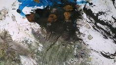 Juuso Karhun työt ovat täynnä reliefimäisiä aksentteja.