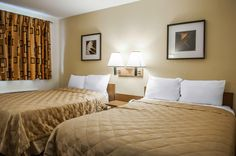 Guest room with double beds | Rodeway Inn | Albuquerque, NM